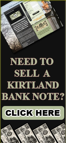 I buy kirtland bank notes!